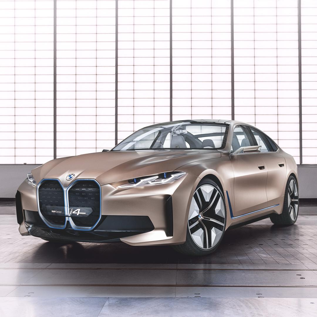 THE i4. Elektryzująco sportowy. BMW concept i4. Pierwsze w pełni elektryczne Gran Coupé. Już wkrótce.  #THEi4 #BMW #i4 https://t.co/QdsnuknPzO