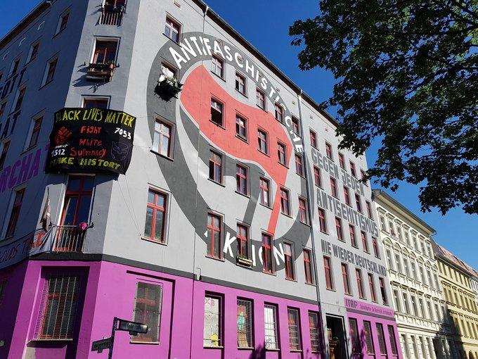 Hausbemalung Colbestr. 19, 10247 Berlin