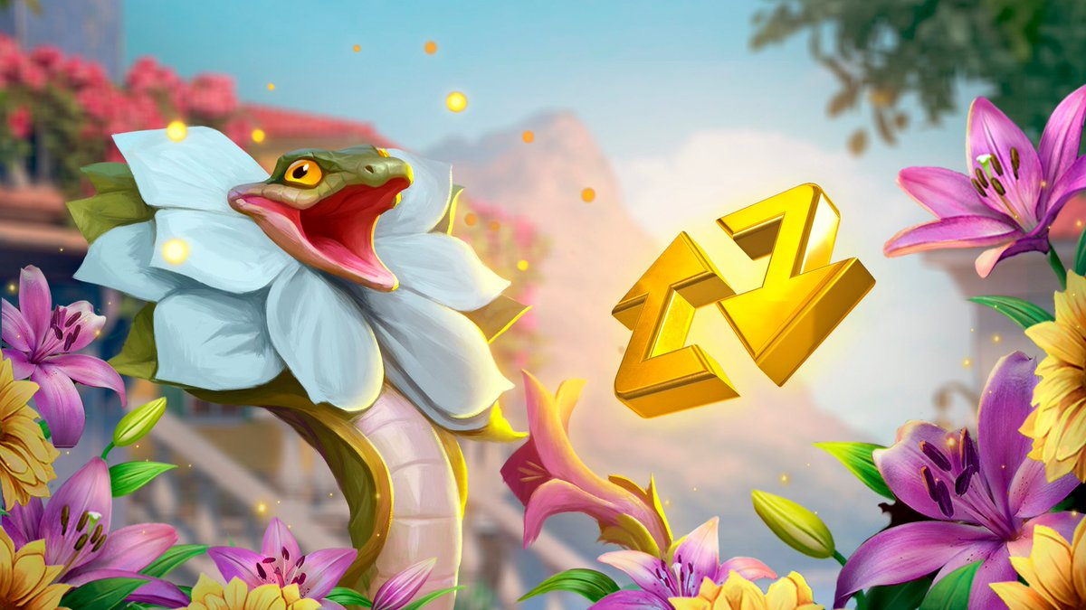 ✨Seekers, look! This mischievous snake won't let the townspeople admire the flowers!🌼  😊Help us banish it by reposting this roulette and get splendid rewards: a Golden Luck, Golden Heritage, and Gold Hummingbird.🔄 https://t.co/XXoMmzlw8A