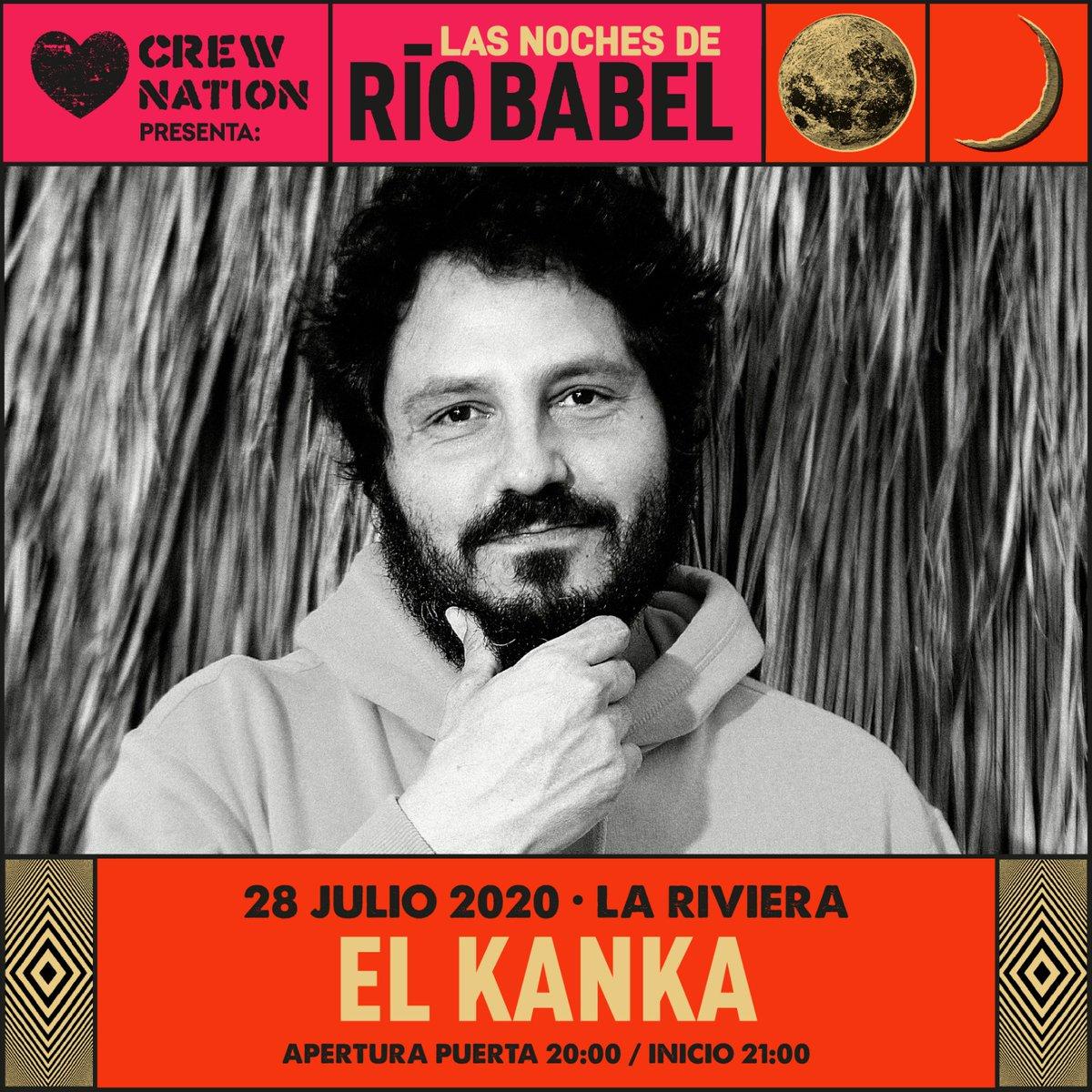 Madrid, estaba deseando decirte esto... ¡ENTRADAS YA A LA VENTA!  #LasNochesDeBabel #CrewNation #ElKanka #PlanB https://t.co/moZ6GCdhTN
