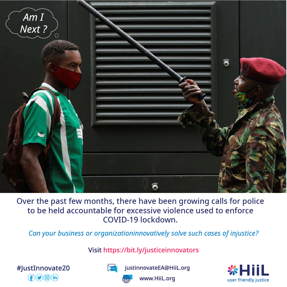 He is now frustrated, physically hurt, and doesn't know where to turn to since the very people who were to be protecting him were the ones harassing him. Can your business innovatively help Idris get justice? Visit our website https://t.co/MYUK1UwlZb  #JustInnovate20 https://t.co/n3Nw64VFEE