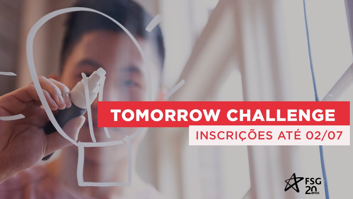 Tomorrow Challenge é um desafio do Santander Universidades que premiará os melhores projetos com soluções inovadoras pós-pandemia. São 5 categorias para você escolher. Participe! 👉 https://t.co/3z6eeNmXHT https://t.co/QXFo5IrceH