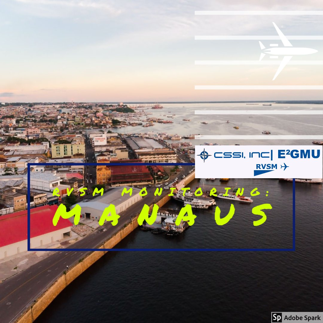 Our #RVSM Monitoring toolkit for #Aviation provides worldwide monitoring capability. Contact us to find your nearest provider ✈  https://t.co/grxMuPngFi  #bizav #bizjet #GPS #jato #jatoexecutive #RVSMMonitoring #pilotos #Manaus #Brazil 🇧🇷 https://t.co/Cq6w6gtgLi