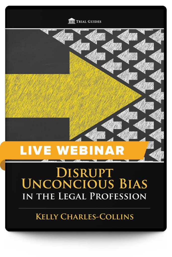New Webinar!  Disrupt Unconscious Bias in the Legal Profession - with Kelly Charles-Collins  August 12, 2020 ♦ 12:30 PM ET ♦ 9:30 AM PT  Register and learn more here: https://t.co/1J3RVTN10g https://t.co/sMT35pTJPE