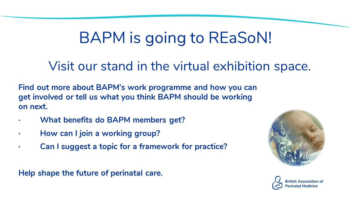 Lots of our work on the programme of REaSoN next week and we'll be part of the virtual exhibition so come and say hello.  In exchange for some promotion of BAPM the REaSoN team have asked us to mention that there are still some tickets available!  https://t.co/2vlYUJYIOY https://t.co/DlmmCjKEAD