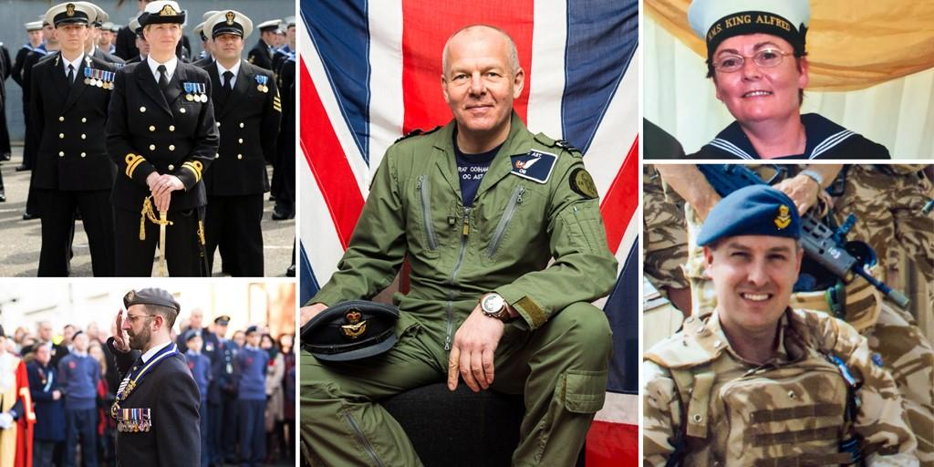 Get to know some of our veterans and active reserves this #ArmedForcesWeek, including David, who served in the @RoyalAirForce for 30 years.   Read David's story: https://t.co/Sc6mCNoMhF https://t.co/YuhIGLFLTa