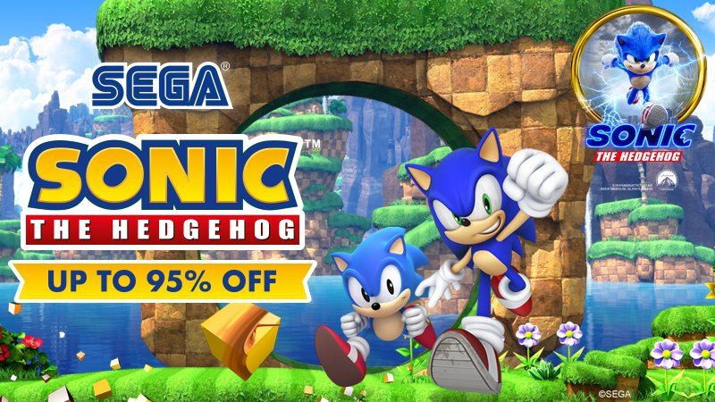 It's Sonic's birthday week! 🎉🎂🥳  We're celebrating with some amazing discounts on selected Sonic games, including the Sonic Generations Collection for up to 95% off!  Head over to Steam to see all the offers: https://t.co/P0WfYxv8ZM https://t.co/LRn4J7rAvg