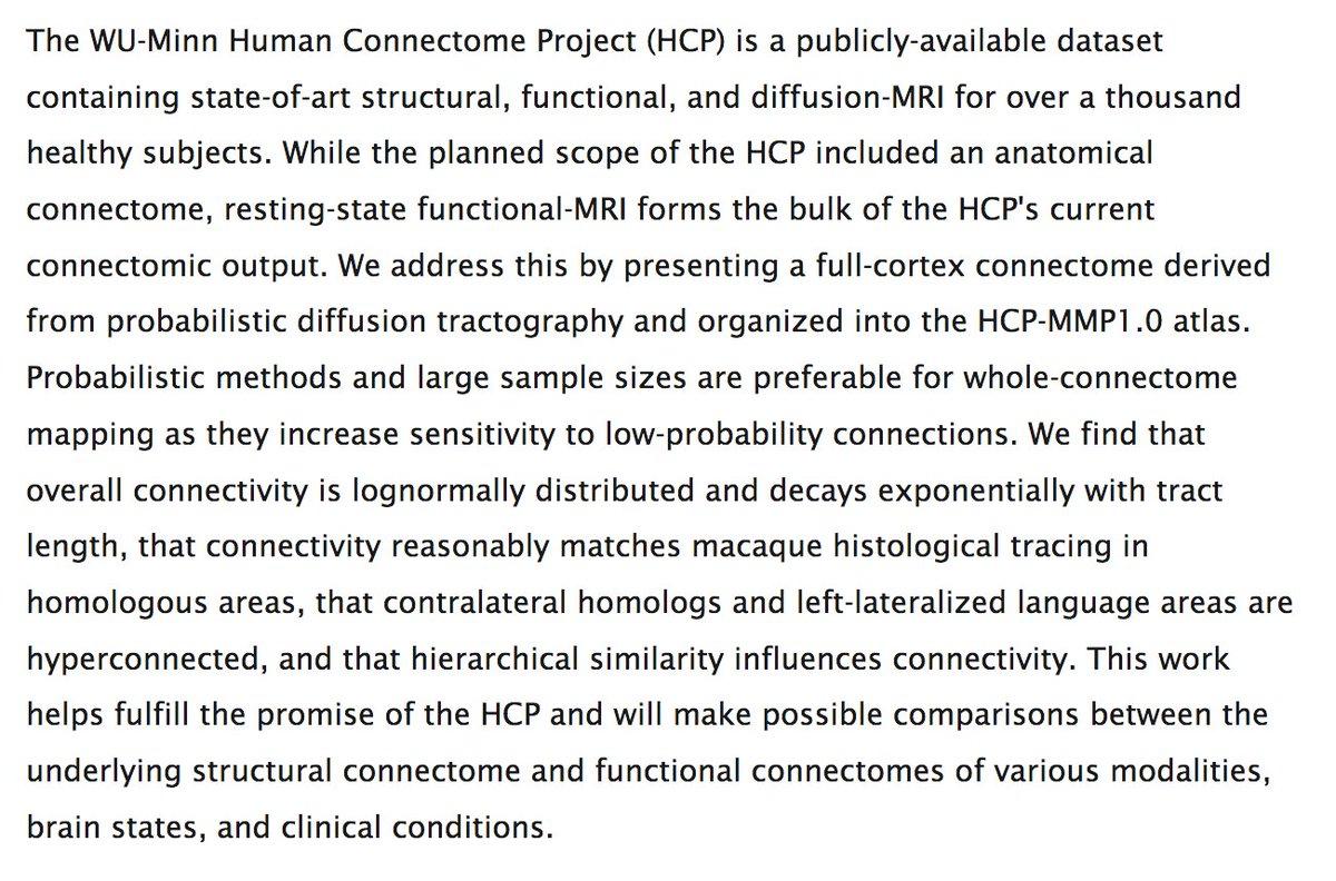 A whole-cortex probabilistic diffusion tractography connectome biorxiv.org/content/10.110…