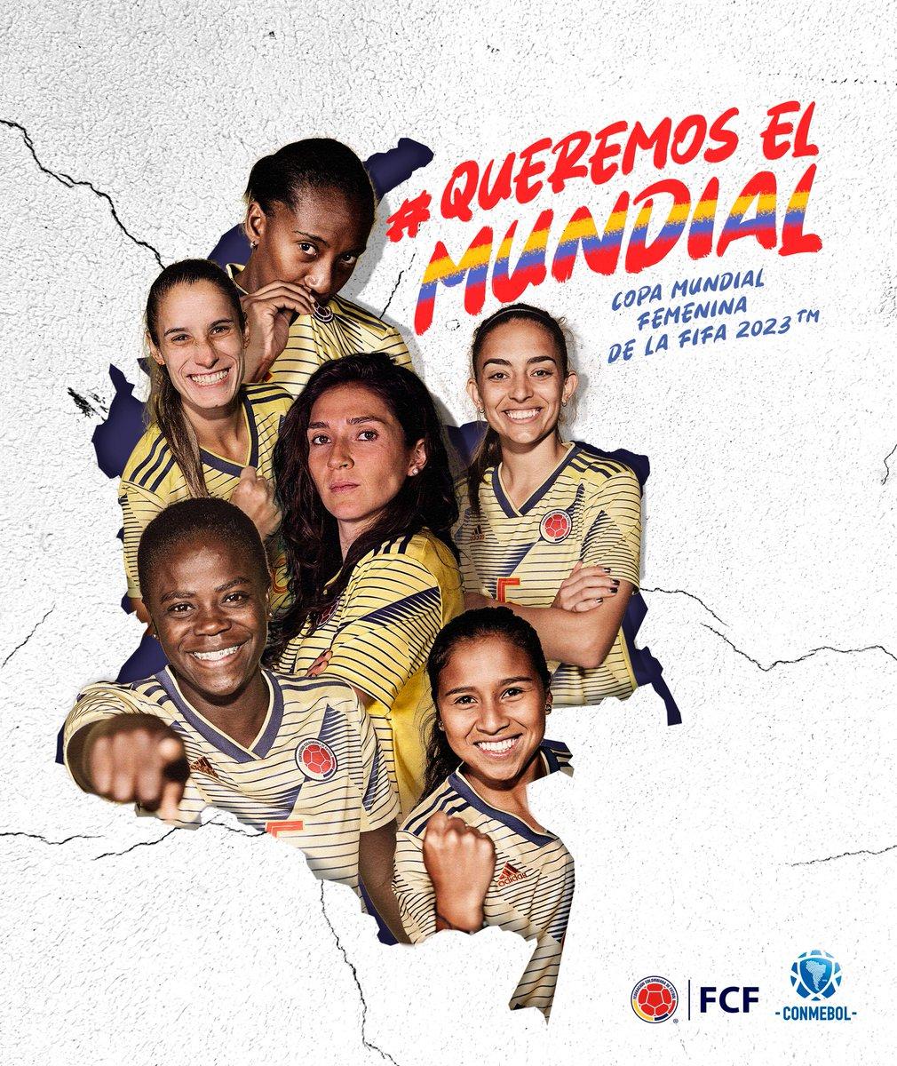 #QueremosElMundial para demostrarle al mundo que Colombia está lista para ser sede de un Mundial Femenino de la FIFA inolvidable 🇨🇴✌🏼 https://t.co/7mgOxdKJcX