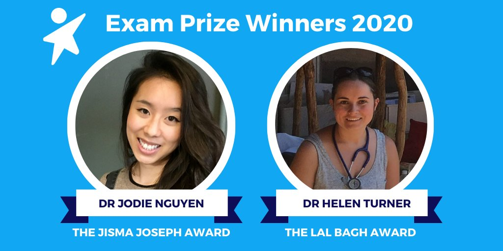 Well done to all those who have completed exams, and congratulations to this year's winners who are the highest scoring from the 2019 intake. 🎉  https://t.co/HRGZmsmtC6 https://t.co/6FtD3PrgQb