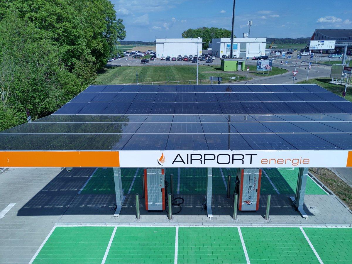 Neue E-Tankstelle am Flughafen wurde gestern von Bundestagsabgeordneten Stephan Stracke und dem parlamentarische Staatssekretär Steffen Bilger offiziell eingeweiht. https://t.co/I5qFndxJMs https://t.co/jb5CdffqIQ