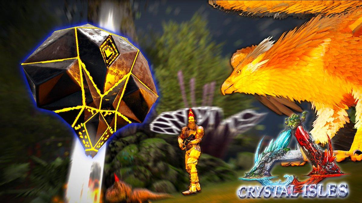 恐竜 ark クリスタル アイルズ