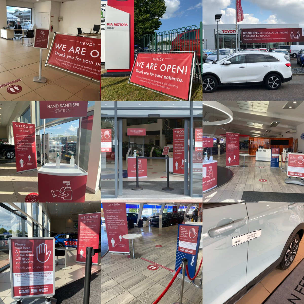 Ebay Motors Group Uk On Twitter Great To See How Hendygroup Have Implemented Clear Consistent Signage And Hand Sanitising Stations In Their Showrooms Taking Measures Like These Can All Help In Getting