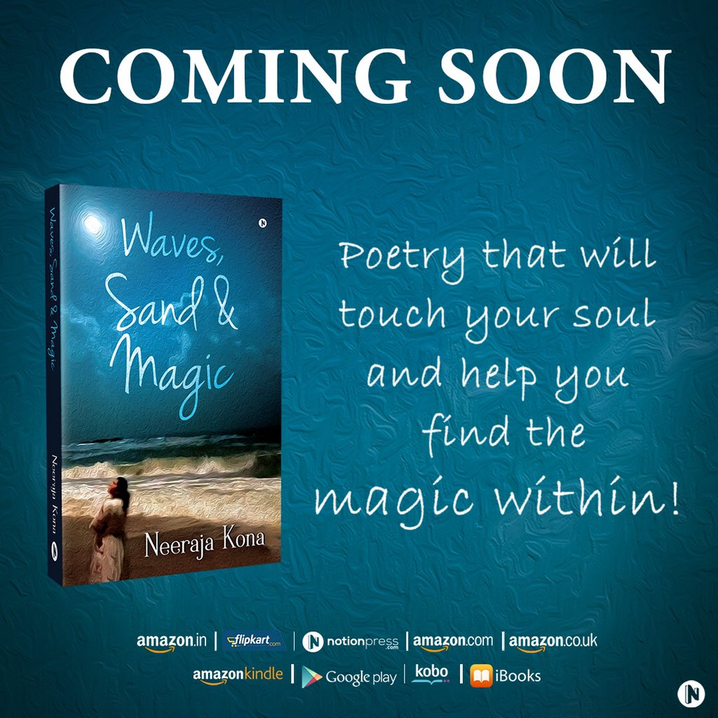 Can't tell you how excited I am for this! First book ❤️ WAVES SAND & MAGIC  It's a compilation of 101 poems and 101 photographs by me. I write a lot about love, life and all the things in between... and this book is all of that ❤️....its as special as it gets for me! https://t.co/kDm227lKky
