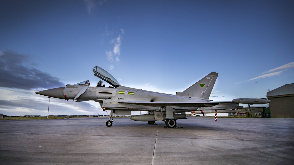 £20 million is being invested to create fit-for-purpose facilities for @IXBSqn, our 4th Typhoon Sqn.   #TeamLossie is transforming into one of the most modern @RoyalAirForce Stations, #SecuringTheSkies with Typhoon, and #SecuringTheSeas with Poseidon.   https://t.co/WJ4olAdkDS https://t.co/MzDf507uye