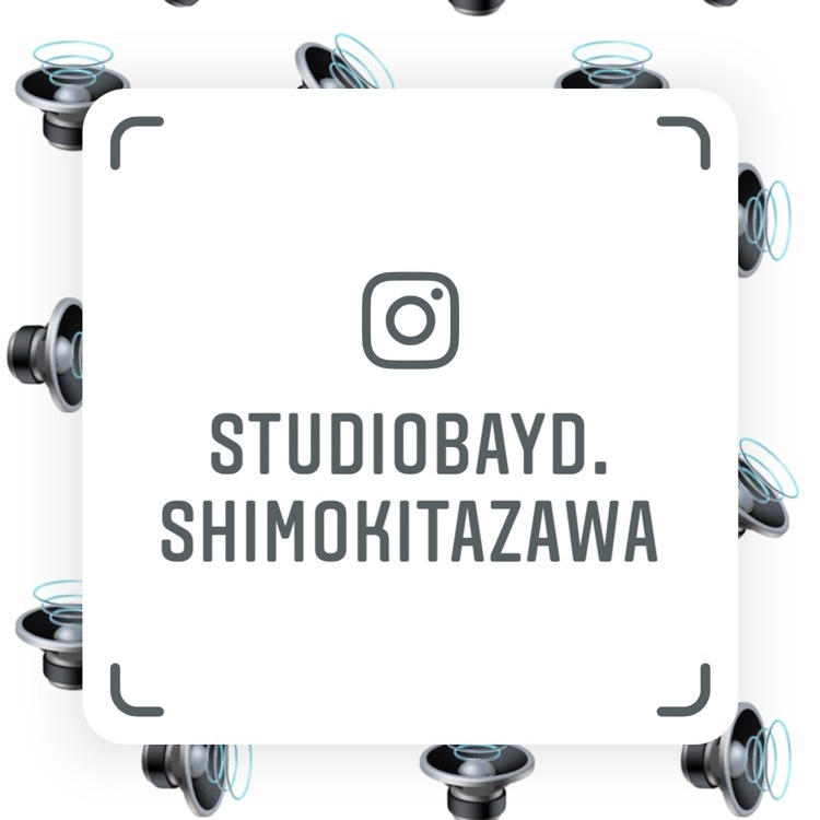 スタジオベイド下北沢店Instagram開設しました! 色々な情報を発信していくのでフォローお願いします☺🎤 #スタジオベイド #Instagram https://t.co/Bb831VTyH2 https://t.co/qVqUSnapcq
