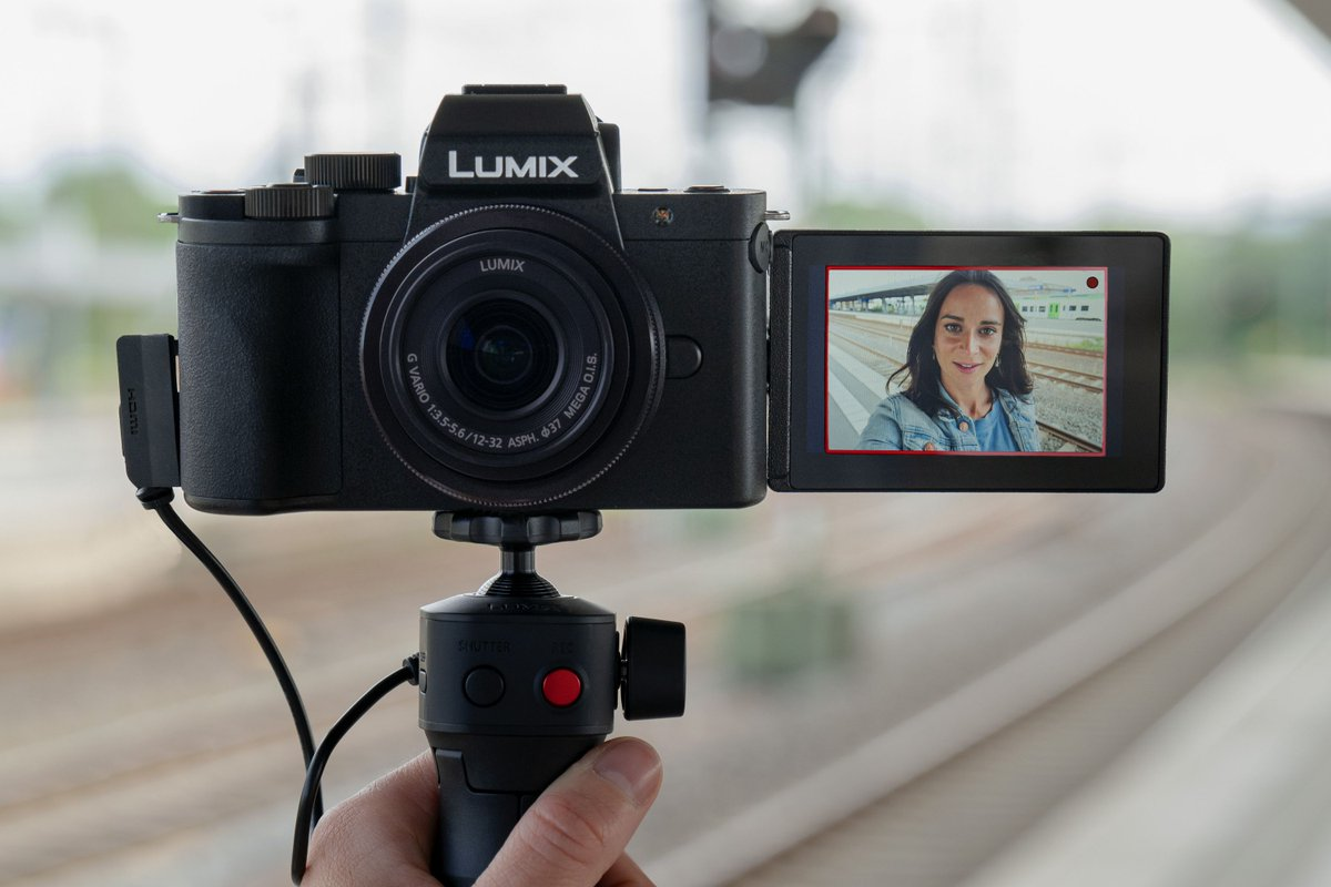 The Lumix G100 is Panasonic's answer to Sony's ZV-1