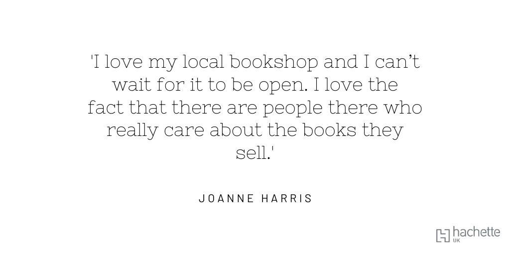 #IndieBookshopWeek @booksaremybag @orionbooks@Joannechocolat