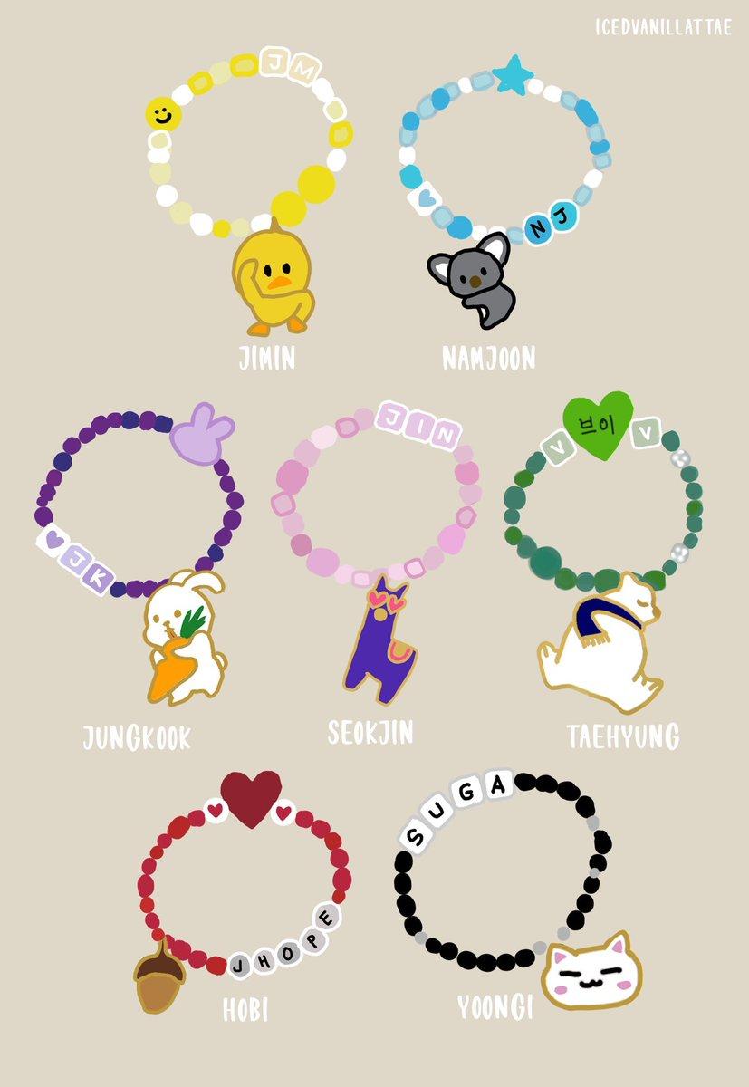 bts bracelets army bracelet 🥺