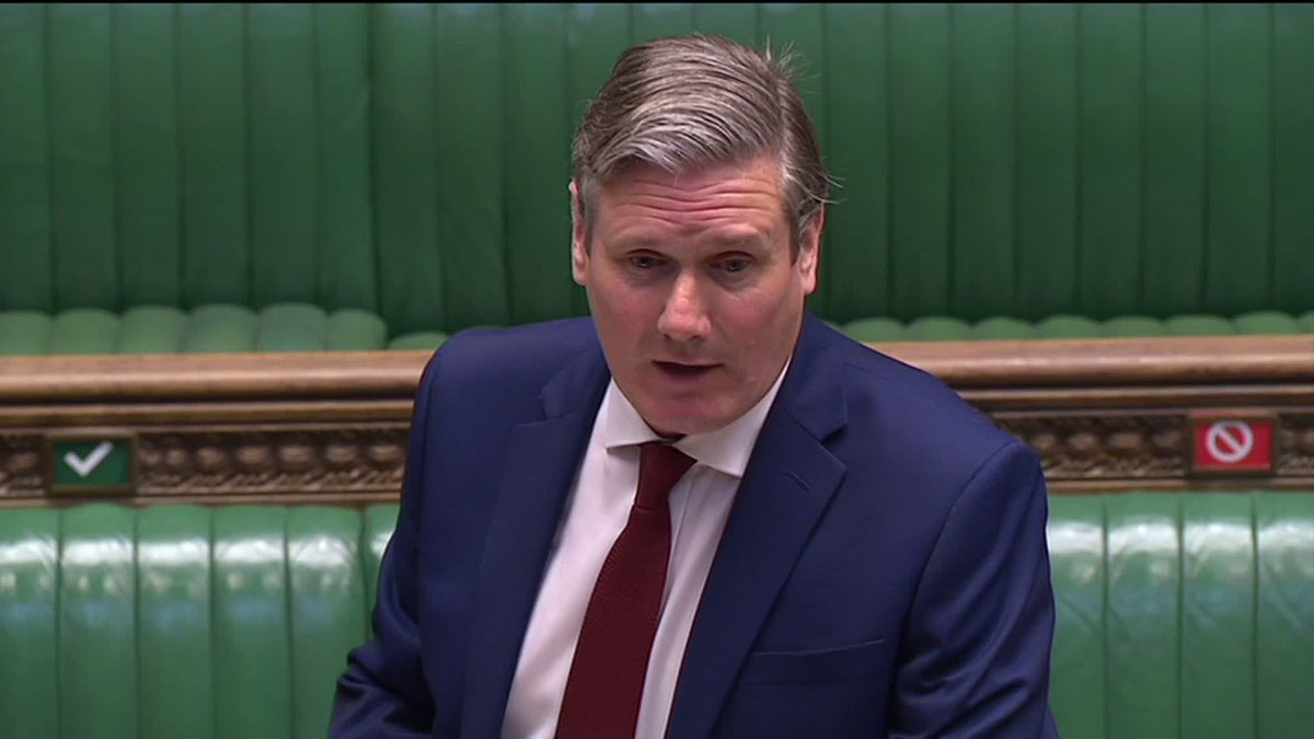 Keir Starmer asks When are we going to have a working app? Boris Johnson says not one country in the world has a successful tracing app. The Labour leader says Germany has coronavirus app thats been downloaded 12m times. Watch #PMQs live: l-bc.co/2CCcevO