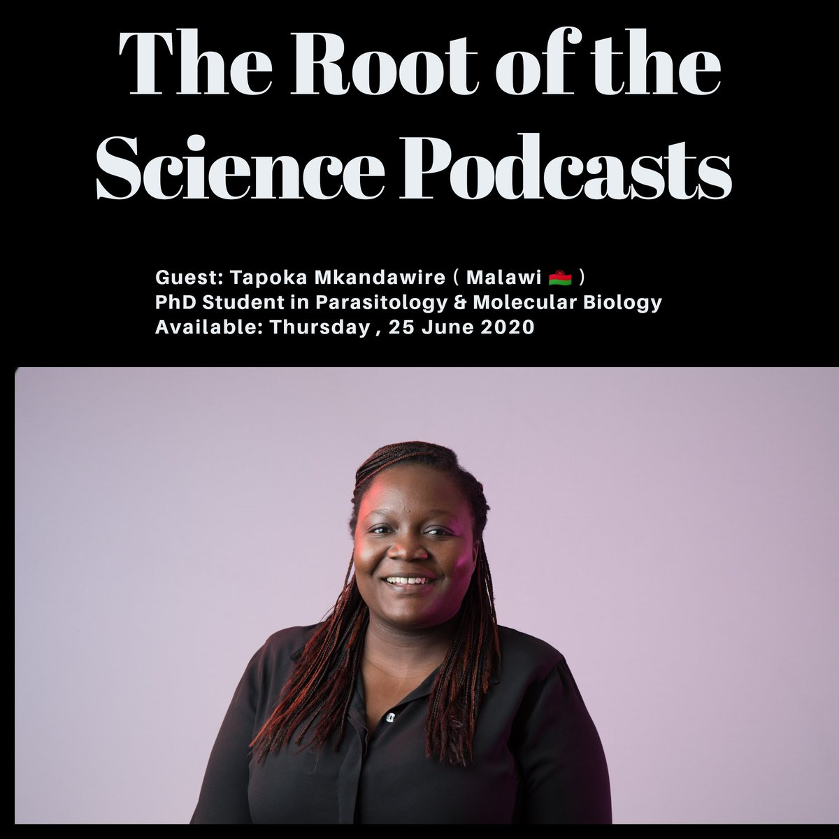 Check out my very talented friend and fellow @sangerinstitute student @TapokaM as she talks about her kickass PhD! ❤️
