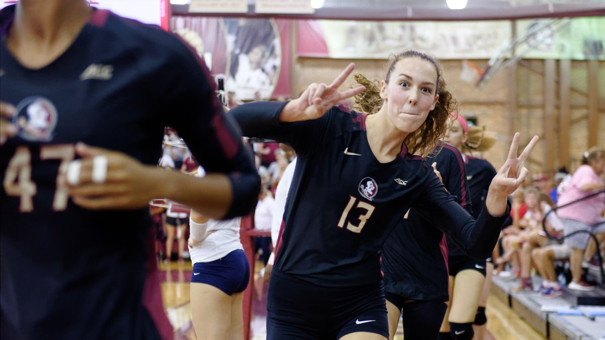 In 2019, ᴛᴀʀʏɴ ᴋɴᴜᴛʜ continued to be one of the top players in the nation🌟  Knuth ranked 4️⃣ in the nation with 1️⃣.5️⃣2️⃣ blocks per set. She also became the first non-libero to be named the ACC Defensive Player of the Year 🙌🏽  Don't take your 👀 off Knuth this year   #GoNoles https://t.co/UdMD9Q3DgV