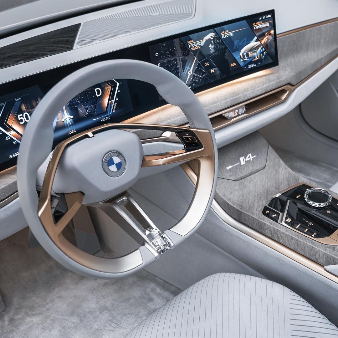 THE i4. Elektryzująco sportowy. BMW concept i4. Pierwsze w pełni elektryczne Gran Coupé. Już wkrótce.  #THEi4 #BMW #i4 https://t.co/dPS3XHIjxx