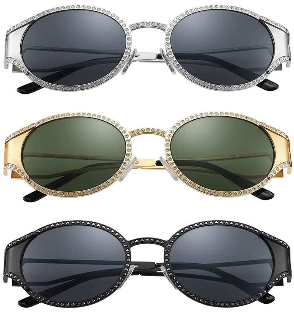 Supreme Sunglasses Releasing Thursday June 25th!  -Miller Sunglasses  -Stretch Sunglasses -Royce Sunglasses  Which pair is your favorite?