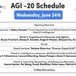 Image for the Tweet beginning: Join us at the #AGI
