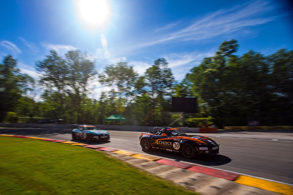 For this week's #WallpaperWednesday, we take it to @roadamerica for the 2019 @Batterytender® @GlobalMX5Cup races. You can head over to our Instagram story to screenshot your favorite. #MX5Cup #MazdaMotorsports https://t.co/dTKFOu7Saa