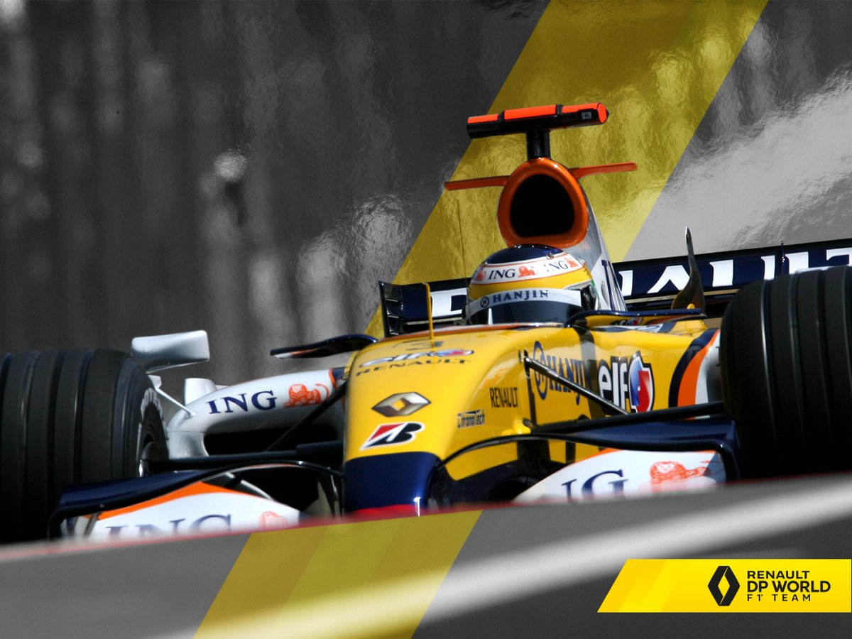 #WallpaperWednesday: 2007 #BrazilGP ...because we all need a dose of @OfficialFisico from time to time. #RSspirit