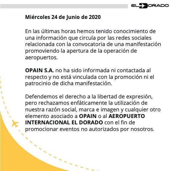 #ElDoradoInforma l Posición oficial https://t.co/b4Qm6N4IJL