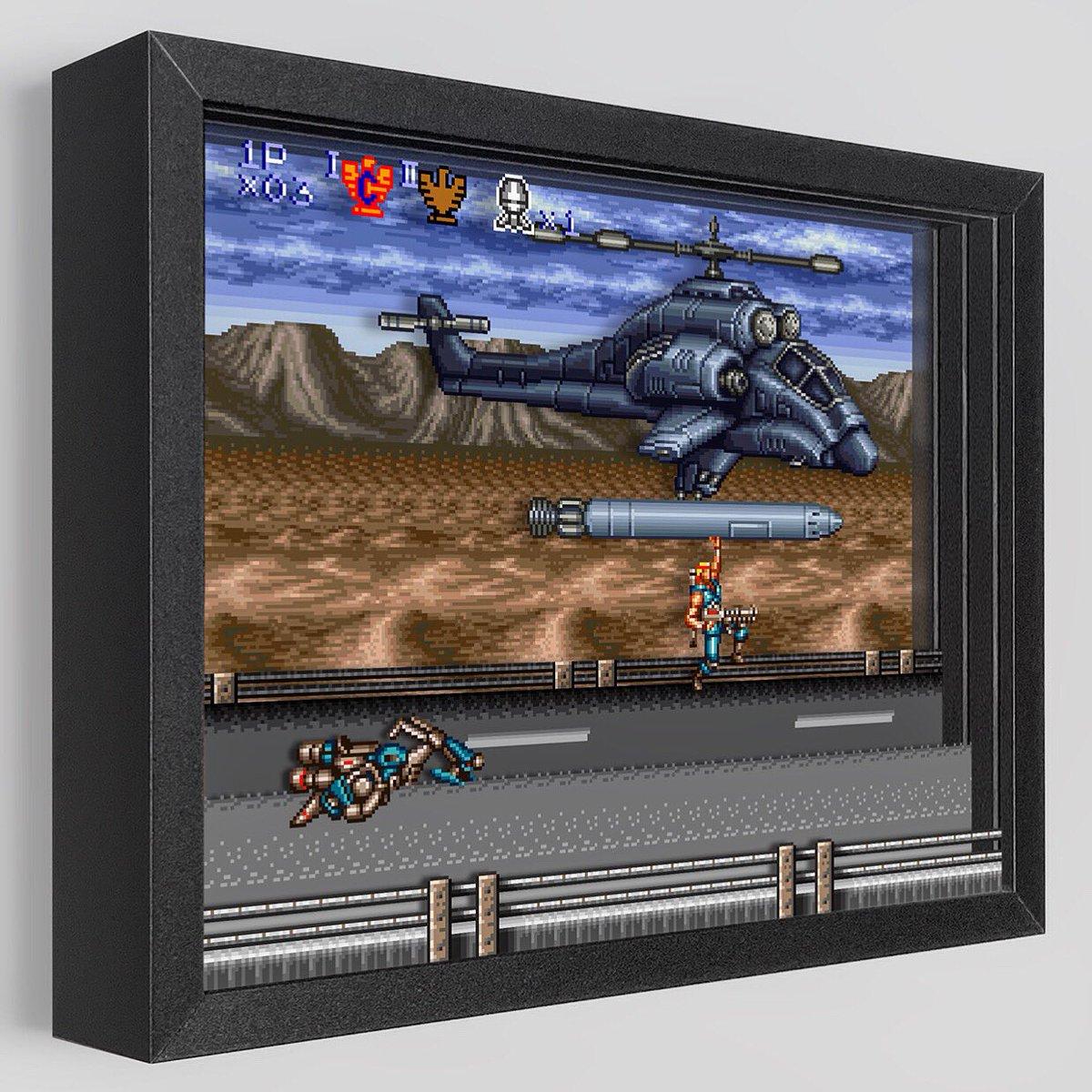 Ready for a Missile Ride? https://t.co/mI9bgyPr90  @konami #art #artwork #desktop #konami #contra #contraiii #alien #alienwars #snes #nintendo #nintendolife #game #gamer #gamerguy #gamergirls #gameboy #invasion #invader #new #official #redfalcon #helicopter #missile #ride https://t.co/Gn7oQn7spq
