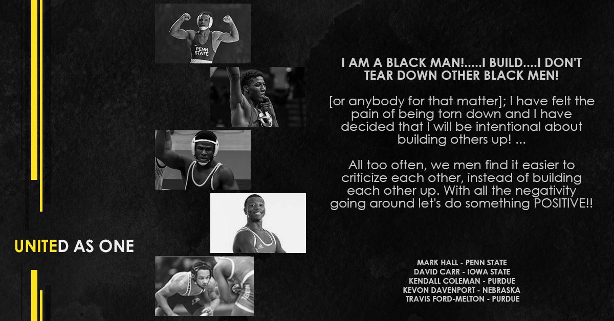 I am a BLACK MAN!.....I BUILD....I don't tear down other BLACK MEN!  🗣 | @BaybeeMarky_PSU @Carrchamp @KendallColema14 @KevonDavenport @TravisFord625 https://t.co/PytEMFNH8c