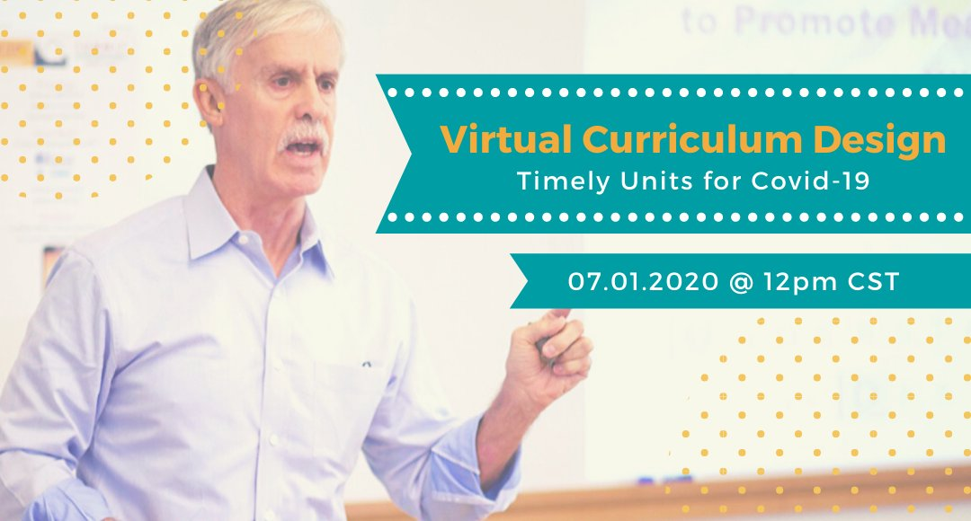 Curriculum can be a unique opportunity for taking advantage of teachable moments. #COVID19 is such a moment. Join @jaymctighe and @ideaillinois as Jay shows the power of collaborative planning within the #EP21 Unit Planner. Register Here: https://t.co/TRJJdW2rdx https://t.co/hRun9TNDw8