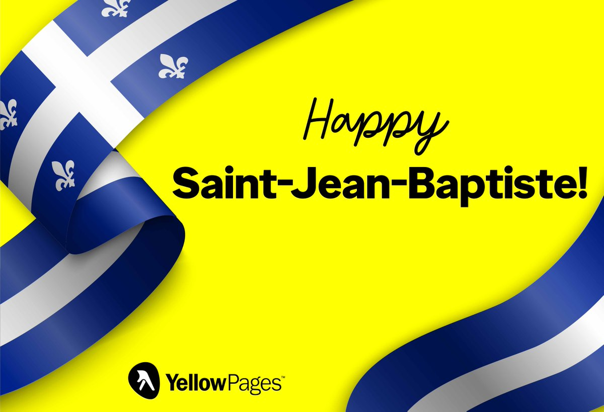 Happy St-Jean-Baptiste to all! https://t.co/H6rwvGpHZN