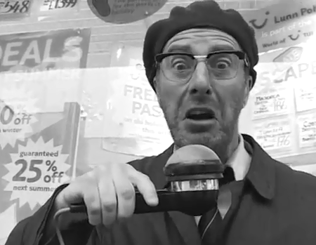 Today it's hotter in Fishguard than on the surface of the Sun. That's not possible, but it's happened anyway