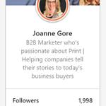 Image for the Tweet beginning: #B2B #Print and #Marketing peeps