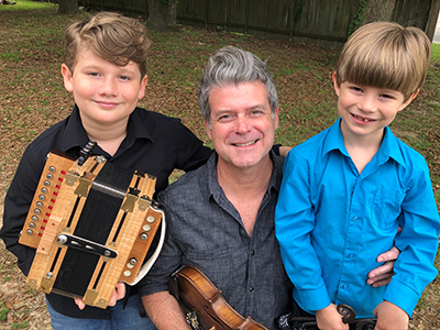 TODAY: Grammy-winning musician Steve Riley, a widely acclaimed master of the Cajun accordion, performs with his two sons in today's Homegrown concert from our American Folklife Center. WATCH at noon ET 6/24 & every Wednesday at noon for more music:  https://t.co/jg6ClTVUXG https://t.co/c1ycwDRxs2