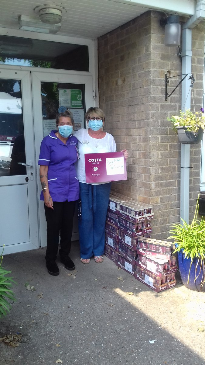 A huge THANK YOU to @CostaCoffee for their amazingly generous donation to two of our Care Homes, Knowle Hill & Housteads, in Sheffield. Our staff are over the moon and it's such a lovely gesture 😍😍😍😍😍 #ThankYou #carehome #sheffield https://t.co/0rL3df2Yf7