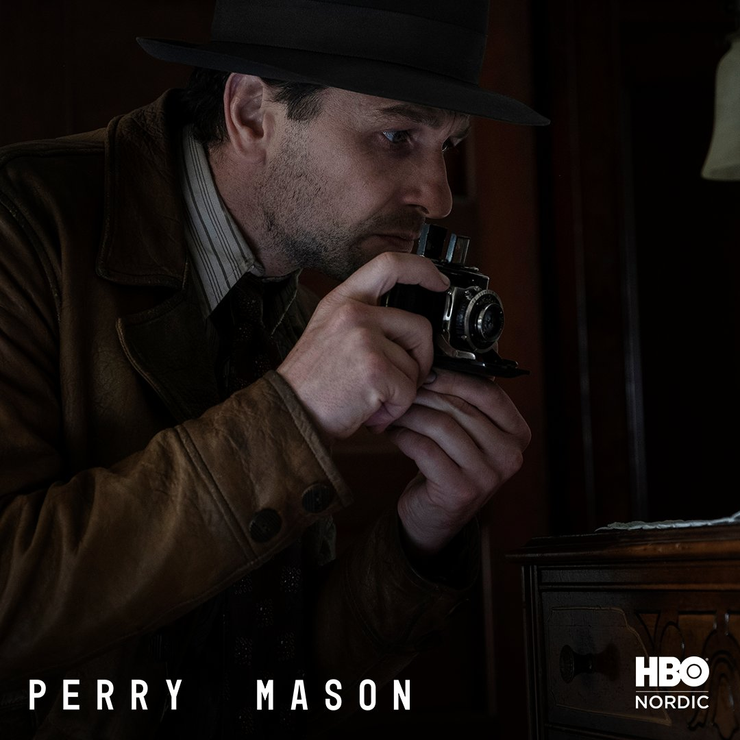 Let the detective work begin 📷 Have you already watched the first episode of #PerryMason?