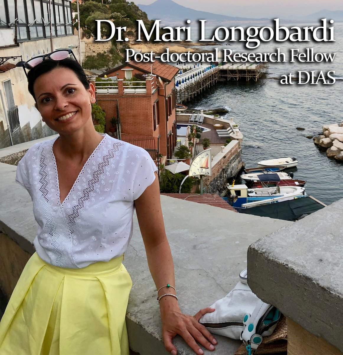 test Twitter Media - What does DIAS mean to you? Listen to what Dr. Mari Longobardi, Post-doctoral Research Fellow at DIAS on the EUROVOLC project, has to say! https://t.co/dlxH620sVf