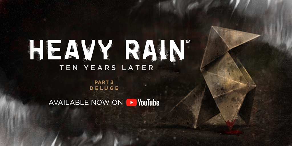 "In this last episode of our ""Heavy Rain Ten Years Later"" video series, discover how much of an impact #HeavyRain had on the studio.   https://t.co/QBKKZnfN5N https://t.co/OHdUcoeVo6"