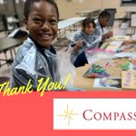 Image for the Tweet beginning: Thank you Compass! Kid Power
