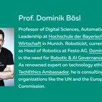 Image for the Tweet beginning: #HDBW Prof. Dominik Bösl aus