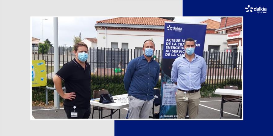 [ÉVÉNEMENT] Les équipes de Dalkia Méditerranée participent à une journée de sensibilisation sur le thème du #DéveloppementDurable au @ChPerpignan. Une occasion de présenter le fonctionnement et les atouts du #RéseaudeChaleur de #Perpignan, raccordé à l'hôpital depuis 2019. #EnR&R https://t.co/5b5e97vstU