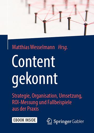 Eine ganzheitliche Betrachtung zu #ContentMarketing: von der Strategie über die Omni-Channel-Ausspielung bis zu Prozessen, Organisationsformen und ROI-Messung #ContentMarketingROI https://t.co/t2qIF0cdHk #ContentMarekting@mwesselmann @fischerAppelt https://t.co/fvziAY2Ujq