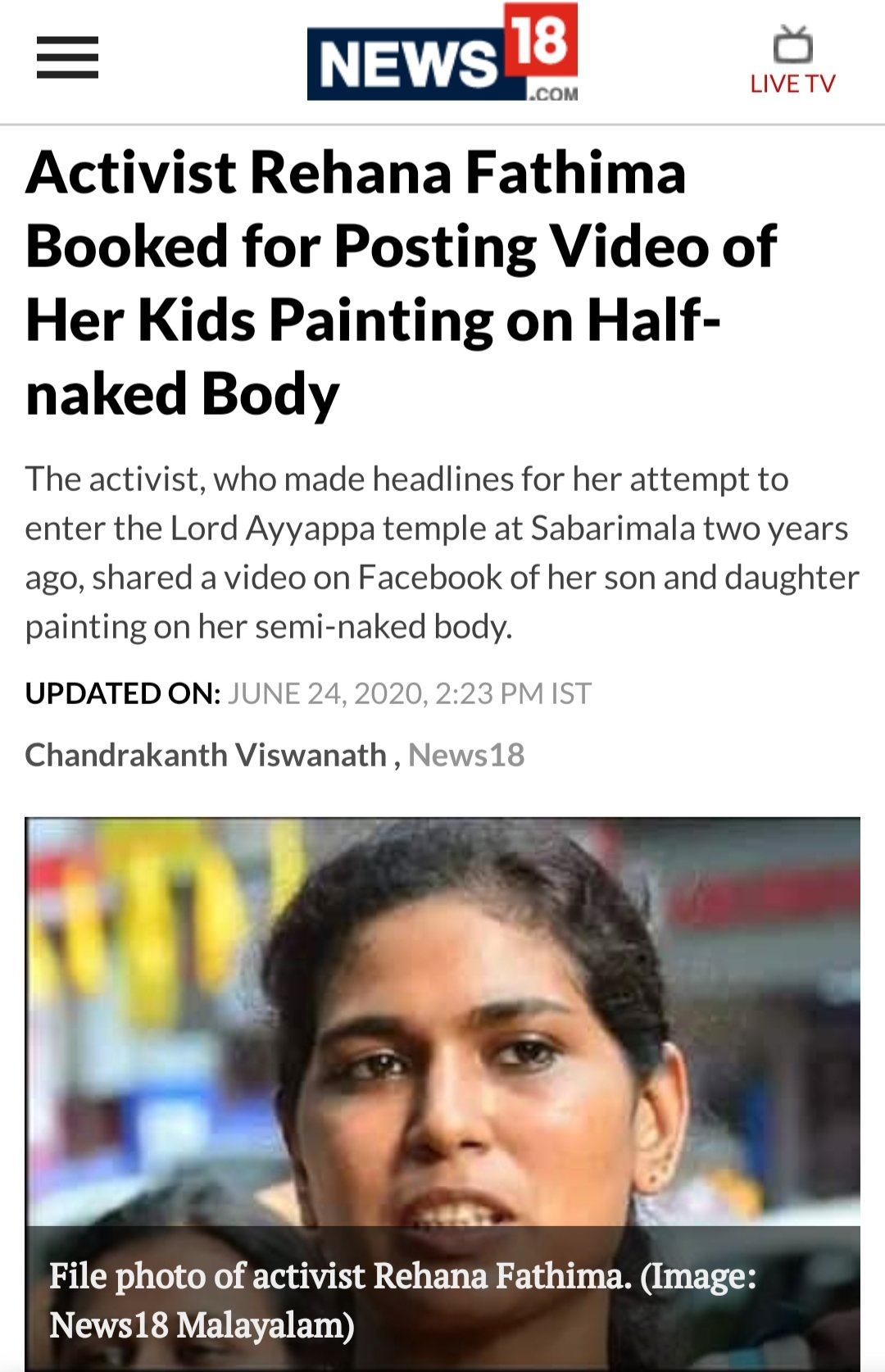 Chandan Saamant On Twitter What Kind Of Sexeducation Is This If It Would Have Been Done By A Man Asking Children To Paint On His Naked Body Wouldn T All Women Activists Hell