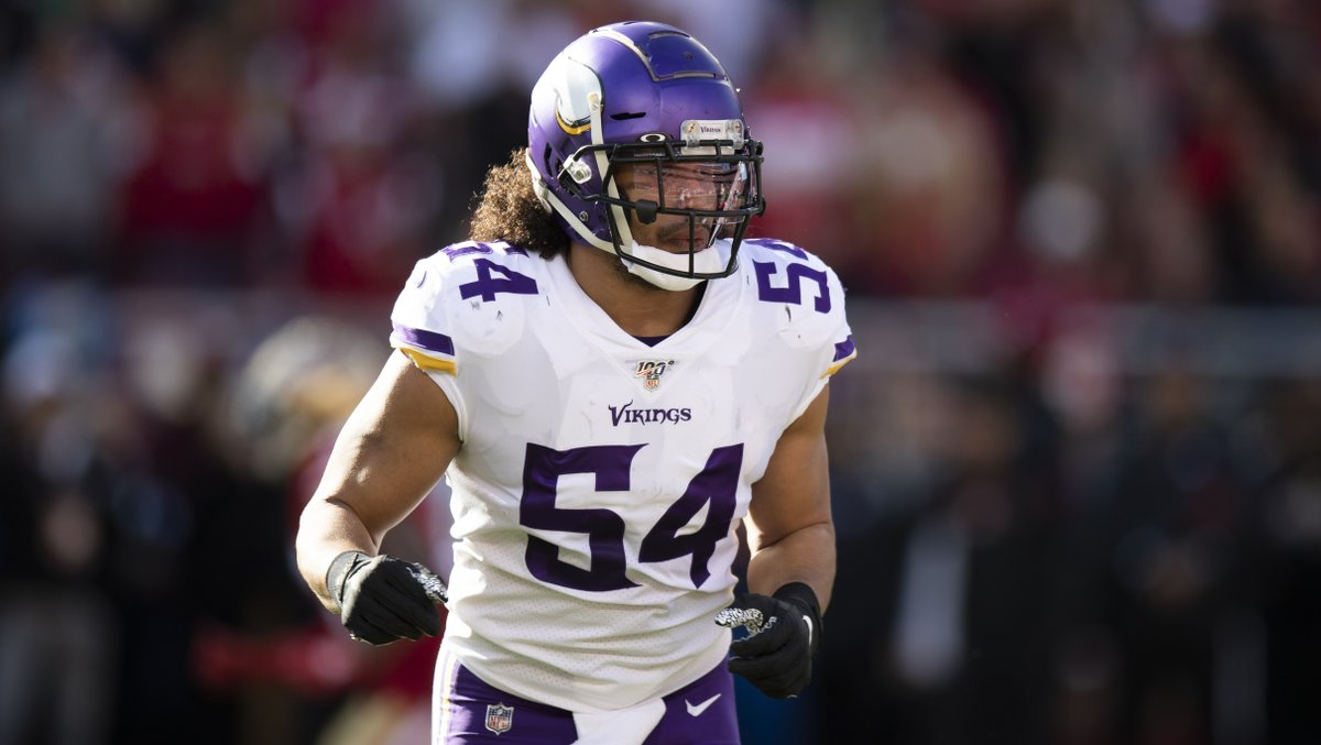 .@EricKendricks54 was recently listed as the 2nd-best off-ball linebacker in the NFL.   👏👏👏  📰: https://t.co/Wg6zS8ux85 https://t.co/75iAp0bUIu