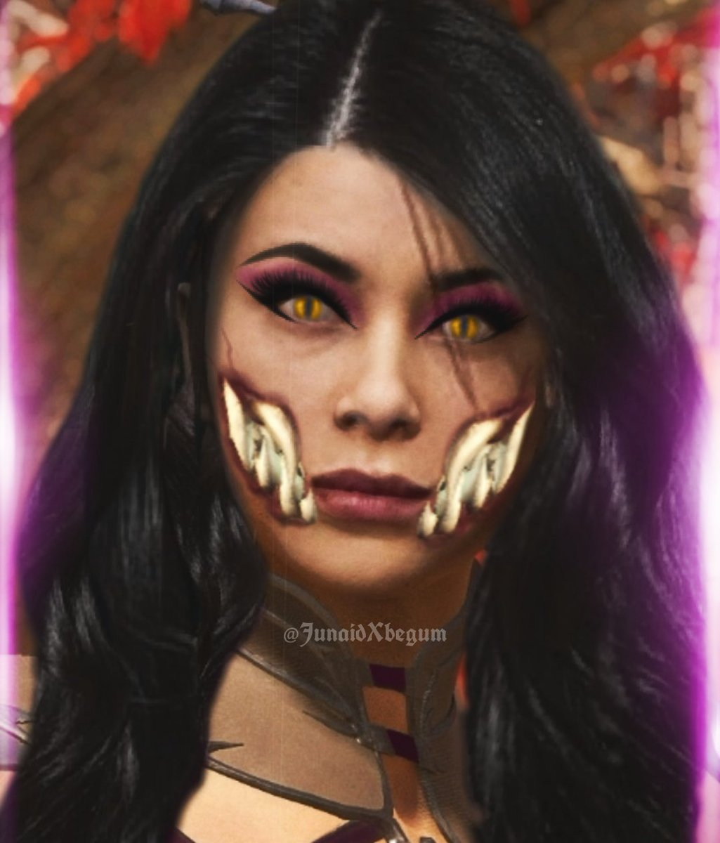 Here's another Mileena edit   I merged kaprices face with another face model so it doesn't look too much like kitana.   #mileena #MK11 #mk #MortalKombat11 #hybrid pic.twitter.com/S89S6lJ71E